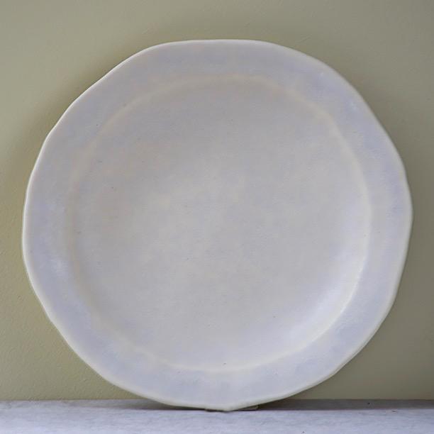 Subtle Creamy White Starter Plate