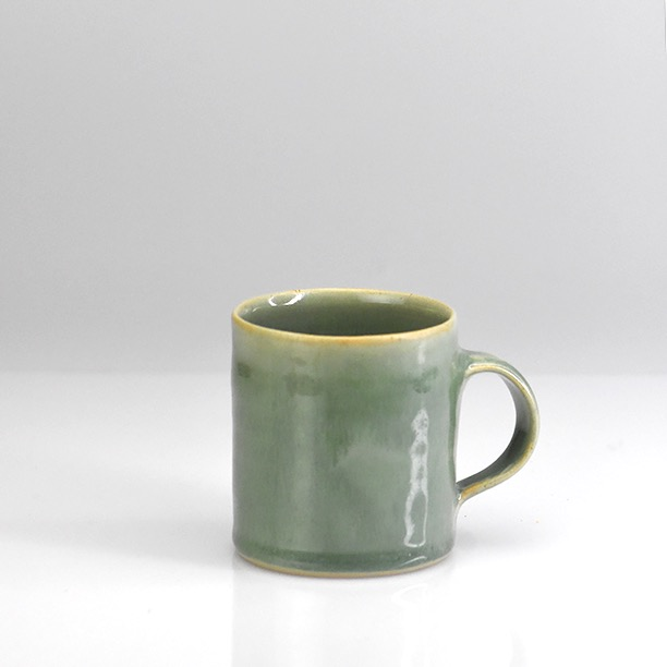 Coffee Can in Mid Green.